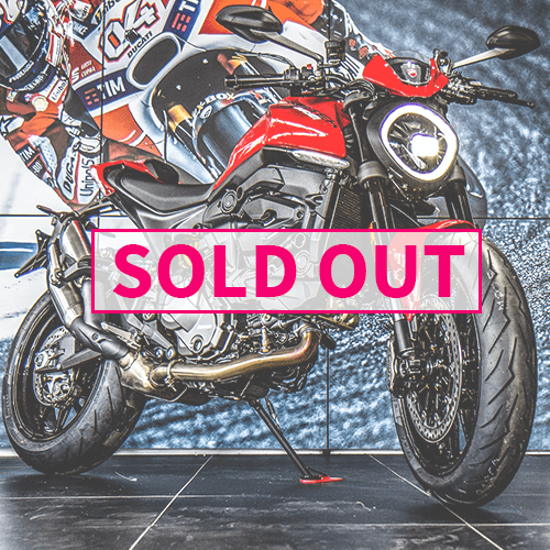 Ducati Monster Plus new front light on sold out