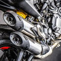 Ducati Monster Plus exhaust end can